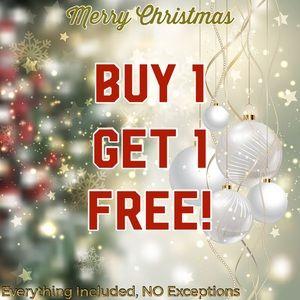 🎄DECEMBER SALE🎄BUY 1 GET 1 FREE ☃️ NO Exceptions